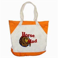 Horse mad Accent Tote Bag from UrbanLoad.com Front