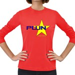 PWN Star Women s Long Sleeve Dark T-Shirt