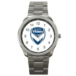 Melbourne Victory FC Sport Metal Watch