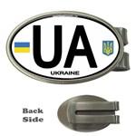 Ukraine Euro Oval - UA Money Clip (Oval)