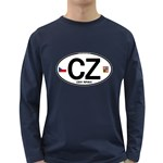 CZ - Czech Republic Long Sleeve Dark T-Shirt