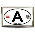 A - Austria Euro Oval Cigarette Money Case