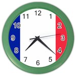 French Flag Color Wall Clock