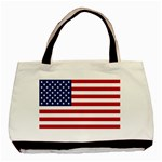 American Flag Classic Tote Bag (Two Sides) from intlgiftshop.com Back