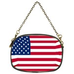 American Flag Cosmetic Bag (One Side)