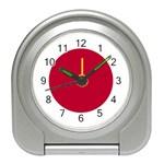 Japanese Flag Travel Alarm Clock