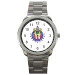 CD Guadalajara Sport Metal Watch