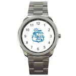 Puebla FC Sport Metal Watch