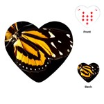 butterfly-pop-art-print-11 Playing Cards (Heart)