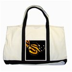 butterfly-pop-art-print-11 Two Tone Tote Bag