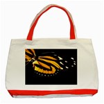 butterfly-pop-art-print-11 Classic Tote Bag (Red)