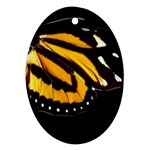 butterfly-pop-art-print-11 Oval Ornament (Two Sides)