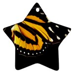 butterfly-pop-art-print-11 Star Ornament (Two Sides)