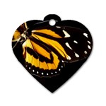 butterfly-pop-art-print-11 Dog Tag Heart (Two Sides)