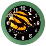 butterfly-pop-art-print-11 Color Wall Clock