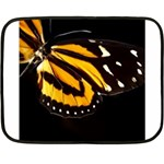 butterfly-pop-art-print-11 Mini Fleece Blanket(Two Sides)