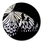butterfly-pop-art-print-13 Round Mousepad