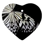 butterfly-pop-art-print-13 Ornament (Heart)