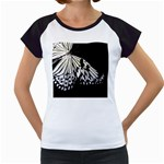 butterfly-pop-art-print-13 Women s Cap Sleeve T
