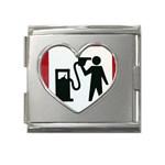 180771786_c50a8db28f Mega Link Heart Italian Charm (18mm)