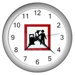 180771786_c50a8db28f Wall Clock (Silver)