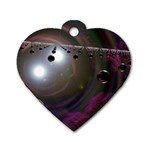 wallpaper_lattice Dog Tag Heart (Two Sides)