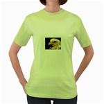 www_pics_am-birds133 Women s Green T-Shirt