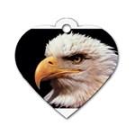 www_pics_am-birds133 Dog Tag Heart (One Side)
