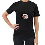 www_pics_am-birds133 Women s Black T-Shirt