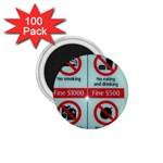 Subway_sign 1.75  Magnet (100 pack)