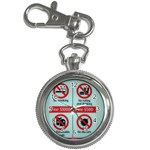 Subway_sign Key Chain Watch