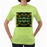 bioboom_xp-632179 Women s Green T-Shirt