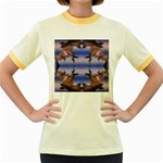bioboom_xp-632179 Women s Fitted Ringer T-Shirt