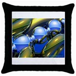 bluegold01b-709182 Throw Pillow Case (Black)
