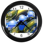 bluegold01b-709182 Wall Clock (Black)