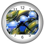 bluegold01b-709182 Wall Clock (Silver)