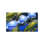bluegold01b-709182 Sticker (Rectangular)