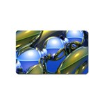 bluegold01b-709182 Magnet (Name Card)
