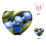 bluegold01b-709182 Playing Cards (Heart)