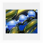bluegold01b-709182 Glasses Cloth (Medium, Two Sides)