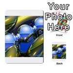 bluegold01b-709182 Multi-purpose Cards (Rectangle)
