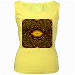 brown_fantasy-958468 Women s Yellow Tank Top