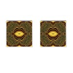 brown_fantasy-958468 Cufflinks (Square)