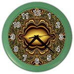 brown_fantasy-958468 Color Wall Clock