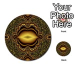 brown_fantasy-958468 Multi-purpose Cards (Round)