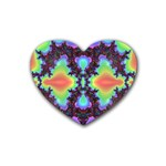 -color%20matrix-685134 Rubber Coaster (Heart)
