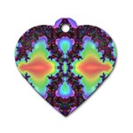 -color%20matrix-685134 Dog Tag Heart (One Side)