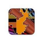 colordesign-391598 Rubber Square Coaster (4 pack)