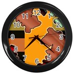 colordesign-391598 Wall Clock (Black)