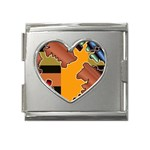 colordesign-391598 Mega Link Heart Italian Charm (18mm)